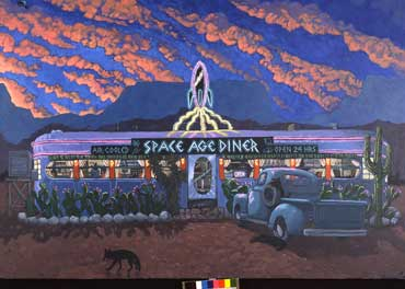 Space Age Diner