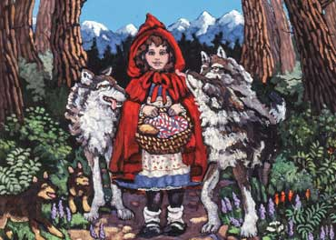 Little Red Riding Hood Lied - Pro Bono - Defenders Of Wildlife